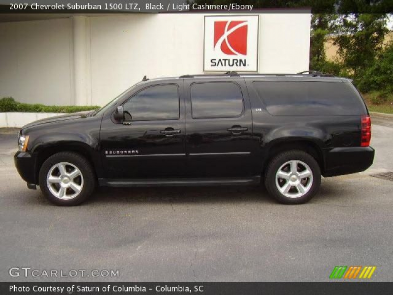 2007 Chevrolet Suburban 1500 LTZ in Black. Click to see large photo.