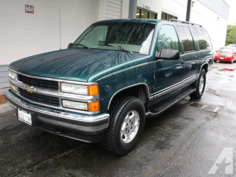 1996 Chevrolet Suburban 1500 for sale in Bellevue, Washington