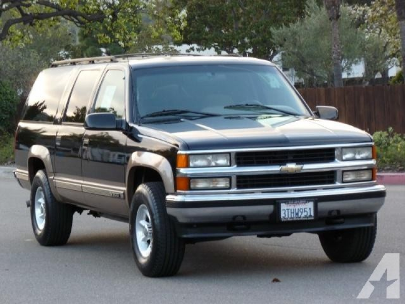 1996 Chevrolet Suburban 1500 for Sale in San Diego, California ...