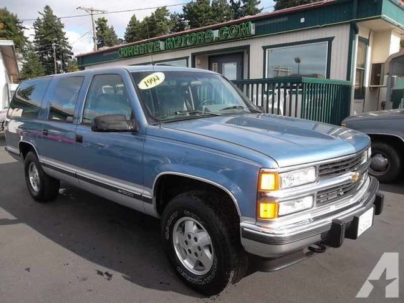 1994 Chevrolet Suburban 1500 for sale in Tacoma, Washington