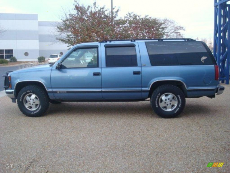 Atlantic Blue Metallic 1994 Chevrolet Suburban K1500 4x4 Exterior ...