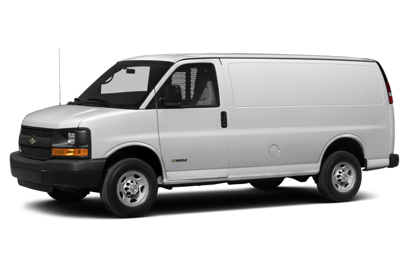 2015 Chevrolet Express 2500 Minivan Van Work Van Rear wheel Drive ...