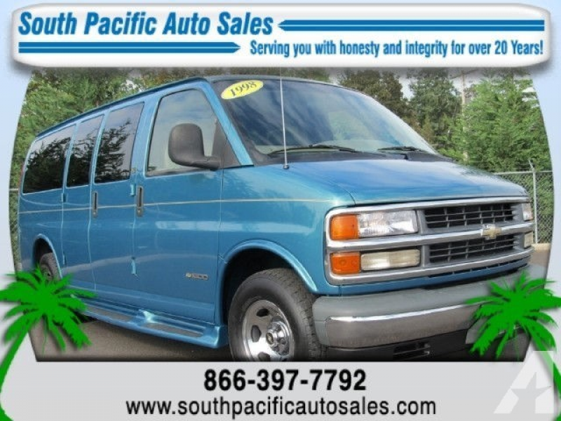 1998 Chevrolet Express 1500 Cargo for sale in Albany, Oregon
