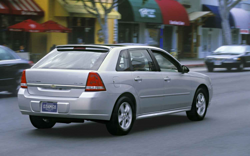MT Then and Now: 1997, 2004, 2008, 2013 Chevrolet Malibu Photo Gallery