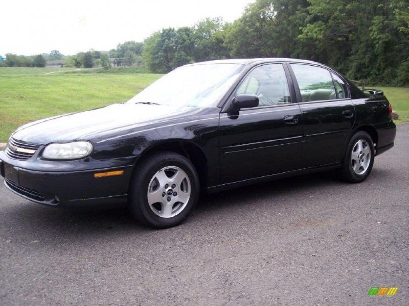 Black 2003 Chevrolet Malibu LS with Neutral seats