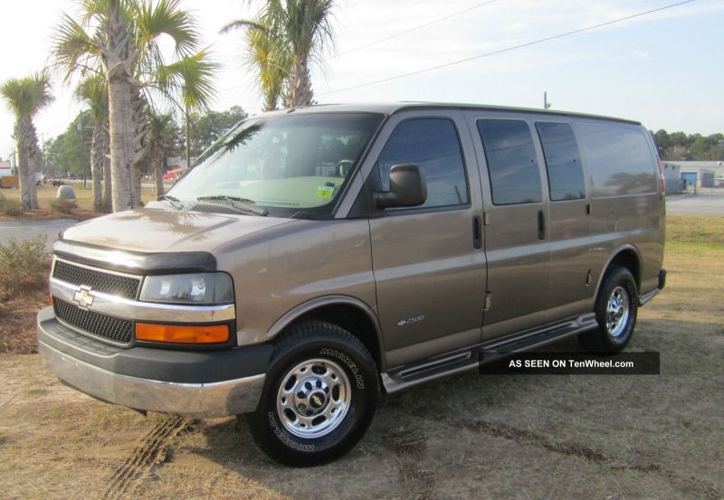 2004 Chevrolet Express 2500 Ls Alc Van 5 - Door 6. 0l All Factory ...