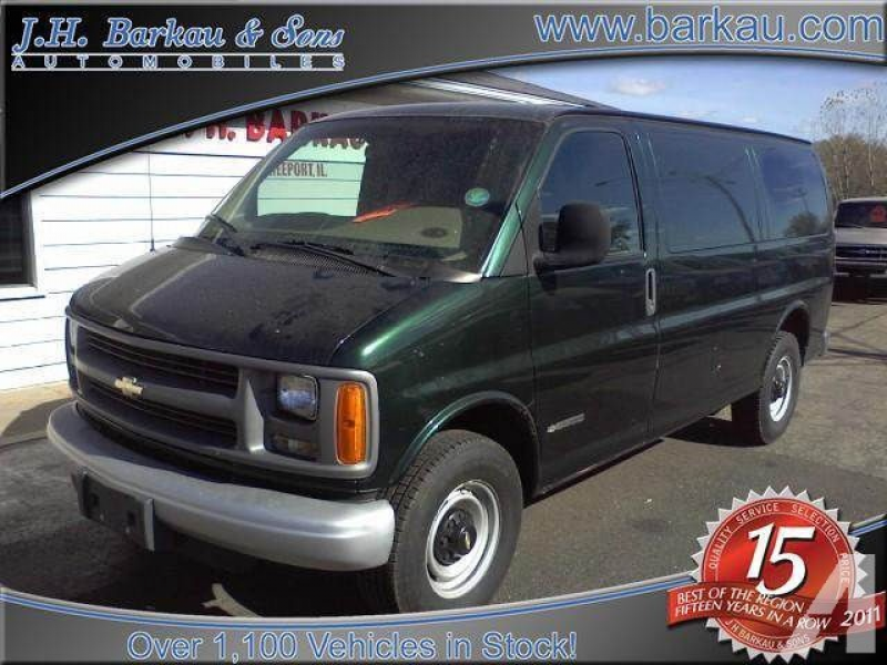 2002 Chevrolet Express 2500 Cargo for sale in Cedarville, Illinois