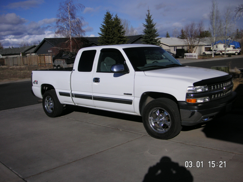 2000 Chevrolet Silverado 1500 Ext Cab Short Bed 4WD, 2000 chevy ...