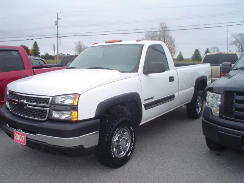 2007 Chevrolet Silverado 2500 LS 4x4 - Cameron, Ontario Used Car For ...
