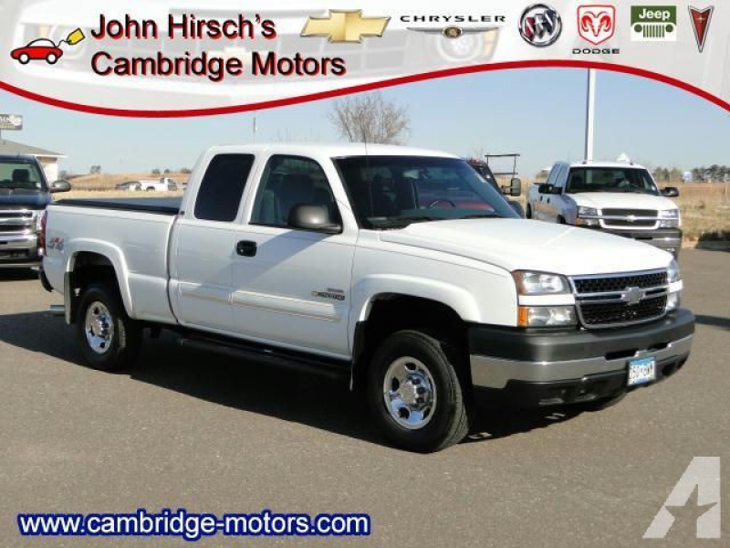 2006 Chevrolet Silverado 2500 H/D for sale in Cambridge, Minnesota
