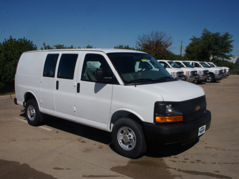 chevrolet express 2500 white automatic texas , new chevrolet express ...