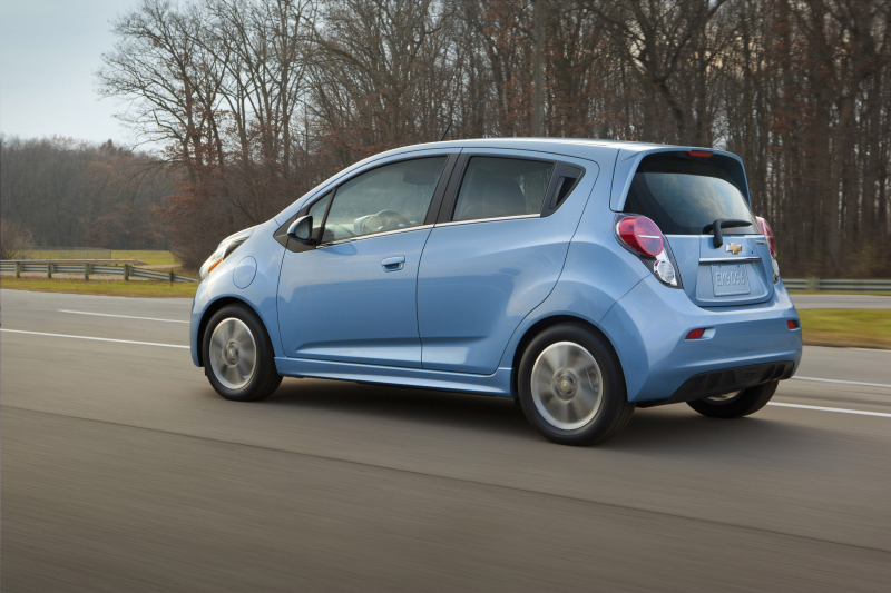 2014 Chevrolet Spark EV Wallpapers