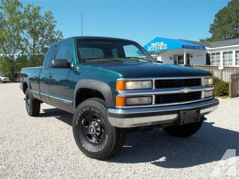 1997 Chevrolet 2500 Silverado for sale in Zebulon, North Carolina