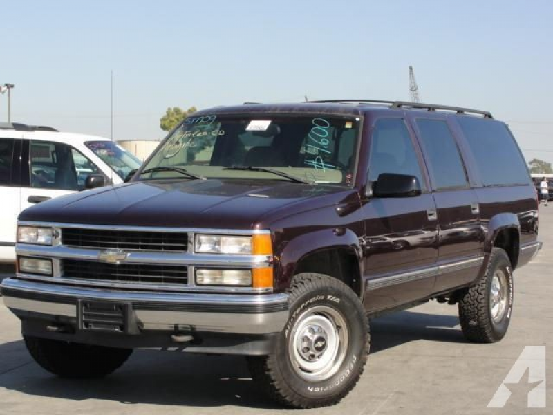 1997 Chevrolet Suburban 2500 for sale in Gardena, California