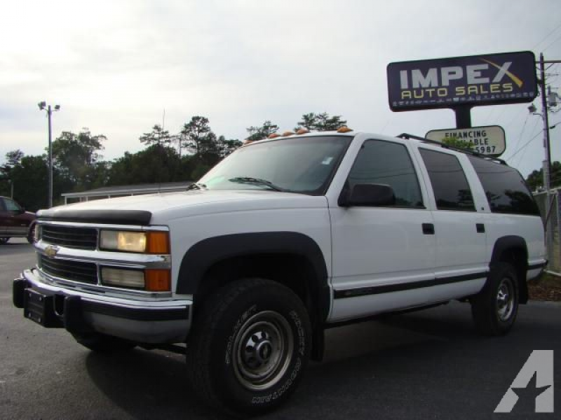 1997 Chevrolet Suburban 2500 LS for sale in Greensboro, North Carolina