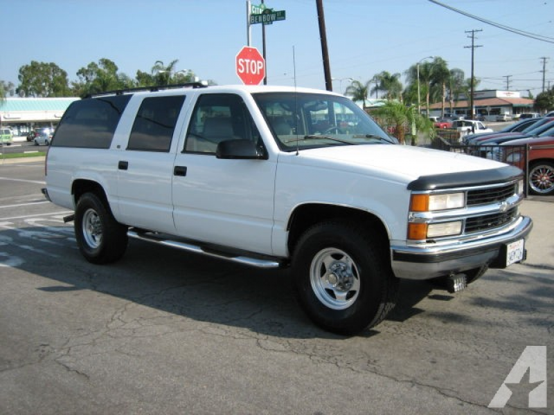 1997 Chevrolet Suburban 2500 LT for sale in Covina, California