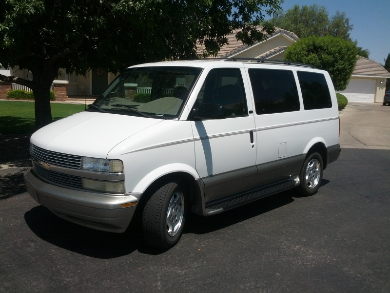 the chevy astro van returned unchanged for the 2004 model year