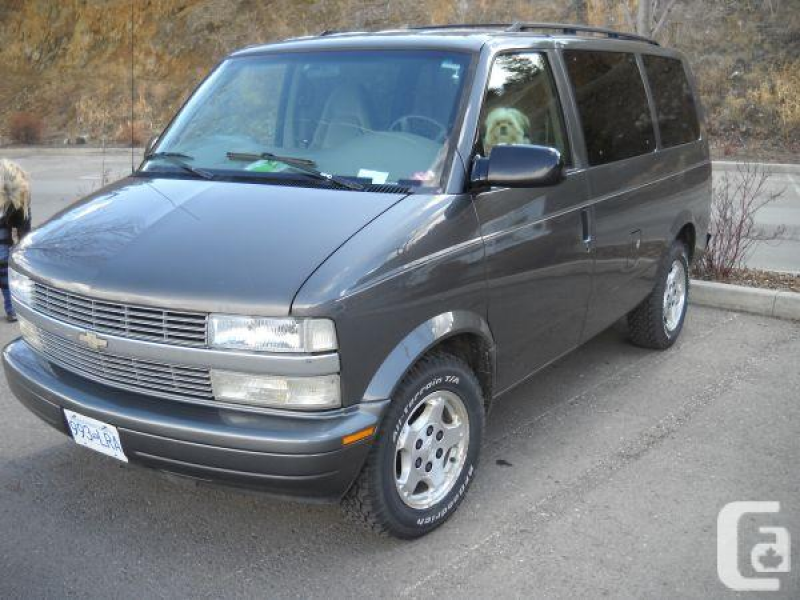 2004 Chevy Astro Van - $5500 (Chase, BC) in Kamloops, British Columbia ...