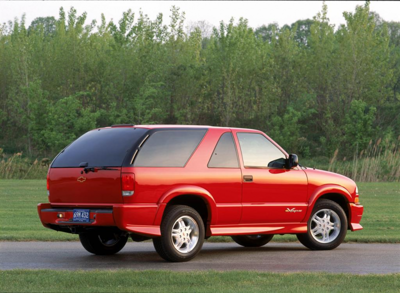 2002 CHEVROLET BLAZER OFFERS PROVEN CAPABILITY AND VALUE