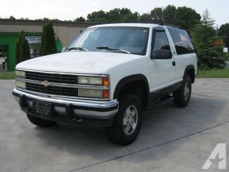 1992 Chevrolet Blazer for sale in Dalton, Georgia