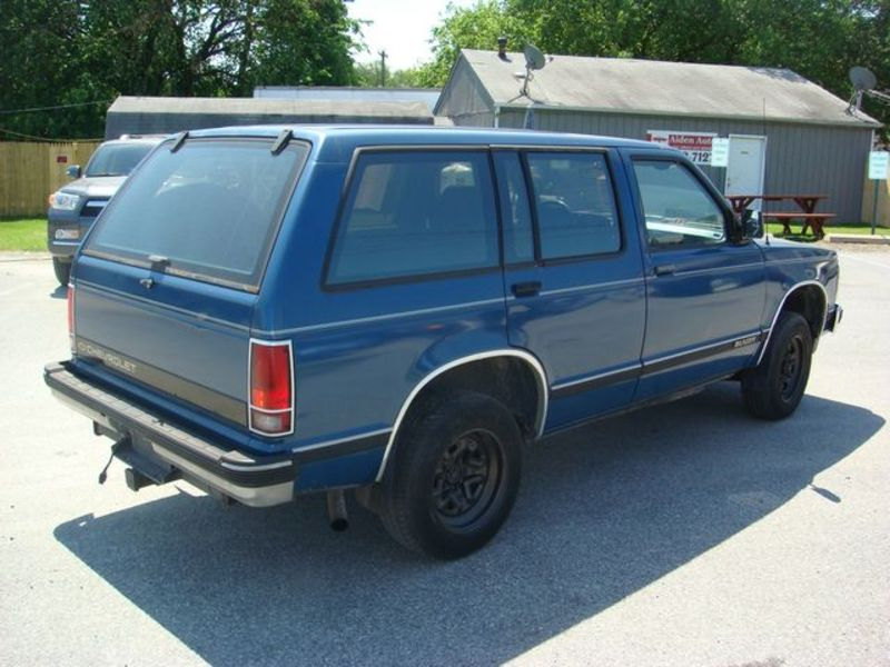 1991 Chevrolet Blazer S 10 For Sale in Bear, DE - 1gccs13z8m2155655