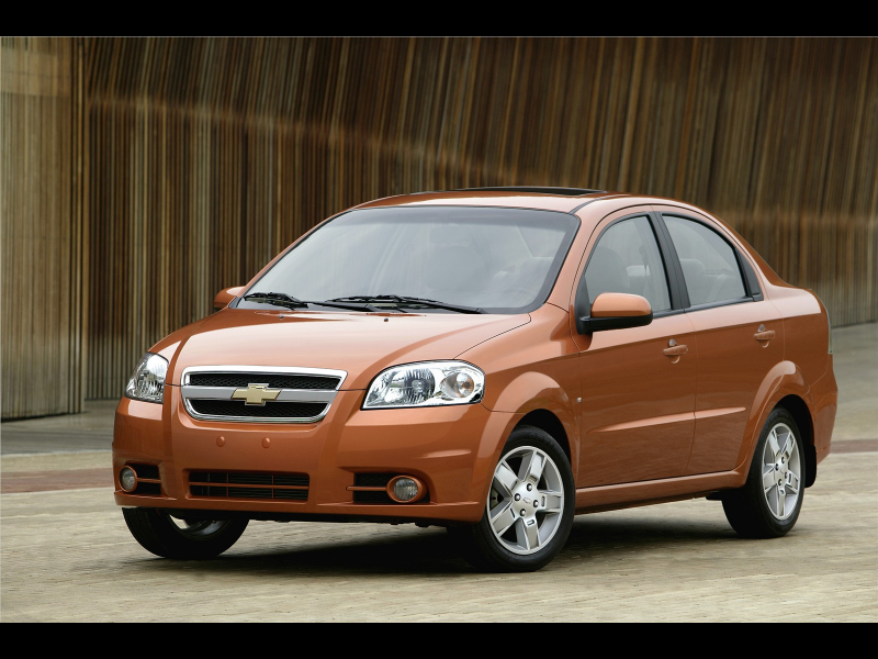 Chevrolet AVEO - 2009 Wallpapers
