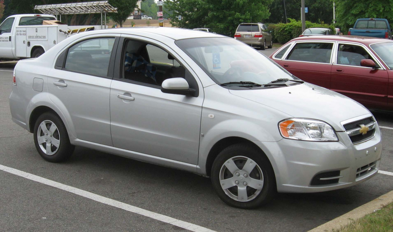Description 2007 Chevrolet Aveo sedan.jpg