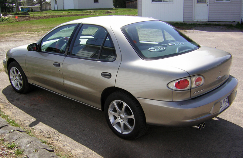 Picture of 2002 Chevrolet Cavalier Base, exterior