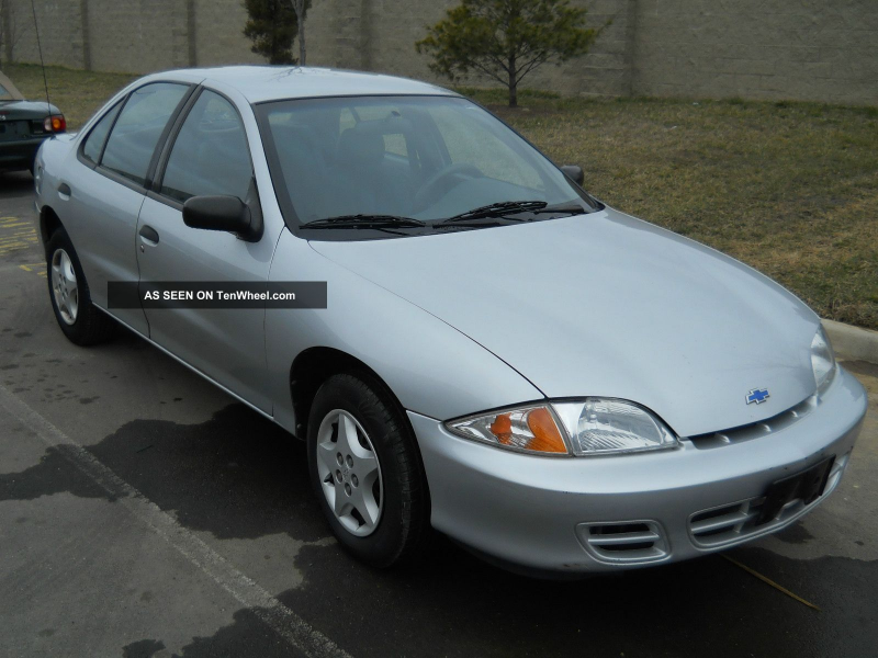 2000 Chevrolet Cavalier Base Sedan 4 - Door 2. 2l / Automatic / Car ...