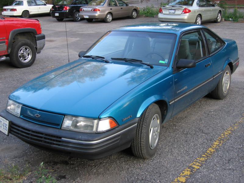 1992 Chevrolet Cavalier RS Coupe, 1st pic of it ever taken., exterior