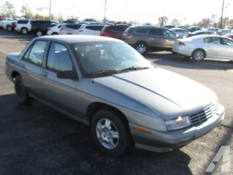 Options Included: N/A1996 CHEVROLET CORSICA SEDAN, GRAY METALLIC, BLUE ...