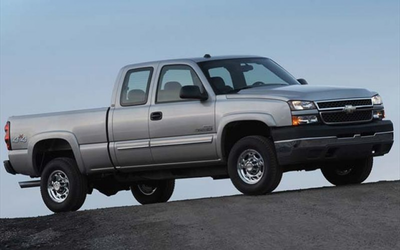2006 Chevrolet Silverado 2500 Hd Passenger Front Side View