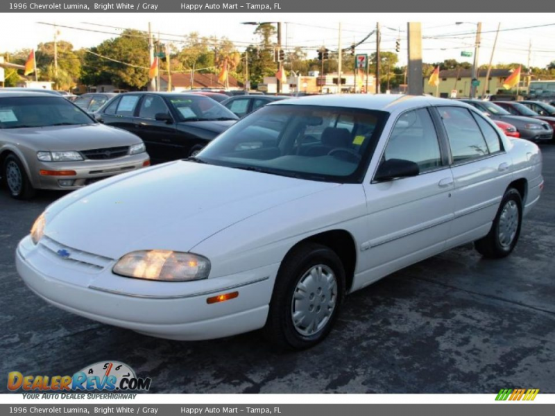 1996 Chevrolet Lumina Bright White / Gray Photo #3