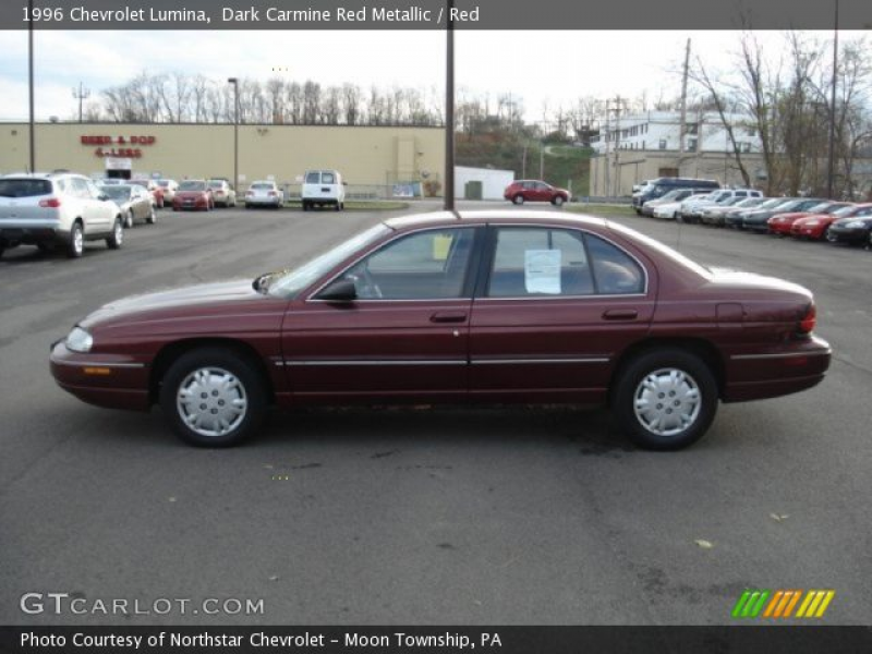 1996 Chevrolet Lumina in Dark Carmine Red Metallic. Click to see large ...