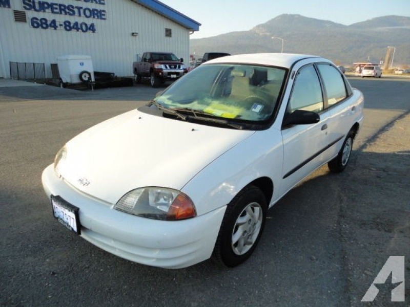 2001 Chevrolet Metro LSi for sale in Colville, Washington