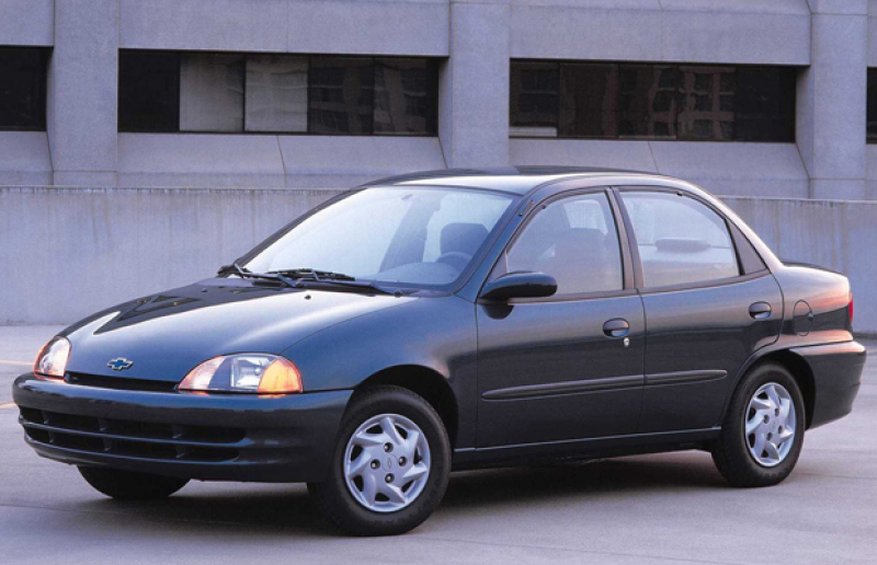 Car Review: 2000 Chevrolet Metro