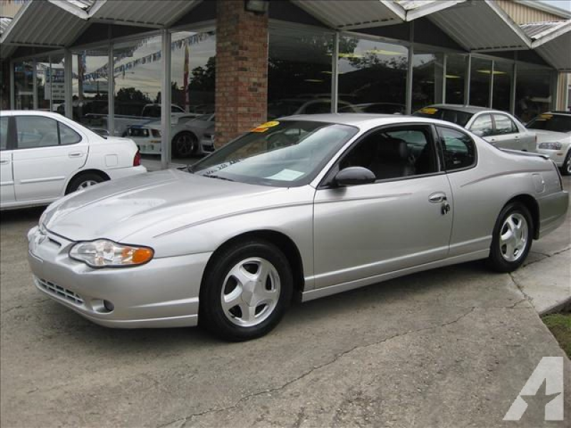2005 Chevrolet Monte Carlo LT for sale in Thibodaux, Louisiana