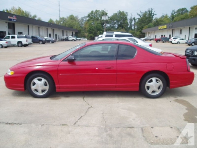 2004 Chevrolet Monte Carlo SS for sale in Ridgeland, Mississippi