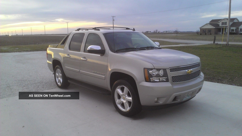 2007 Chevrolet Avalanche Crew Cab Pickup Ltz 4x4 Avalanche photo
