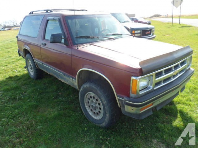 1994 Chevrolet S-10 Blazer for sale in Milan, Indiana