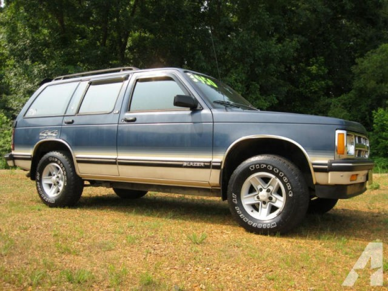 1993 Chevrolet S-10 Blazer LT for sale in Savannah, Tennessee