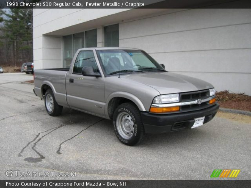 1998 Chevrolet S10 Regular Cab in Pewter Metallic. Click to see large ...