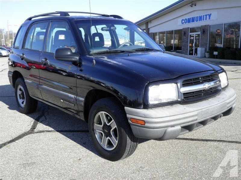2002 Chevrolet Tracker for sale in Mooresville, Indiana