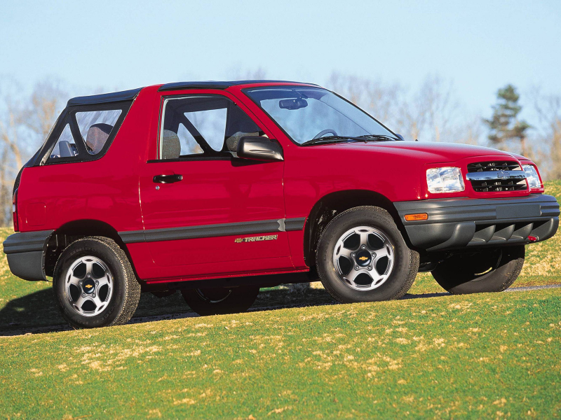 Chevrolet Tracker Convertible '1999–2004