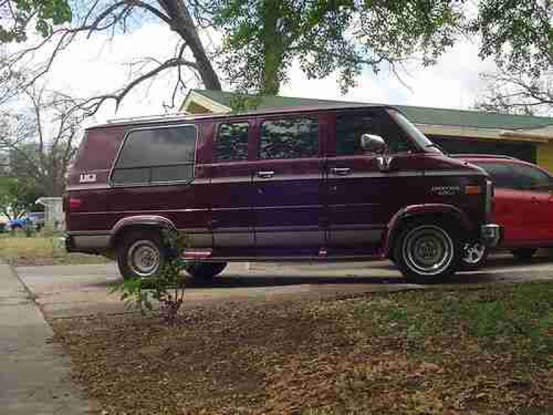 1994 Chevrolet G20 Sportvan/van Conversion 74k Miles on 2040cars