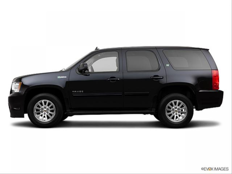 Photos and Videos: 2013 Chevrolet Tahoe Hybrid Colors
