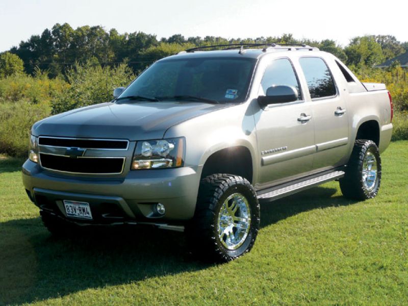 Custom Trucks 2007 Chevy Avalanche