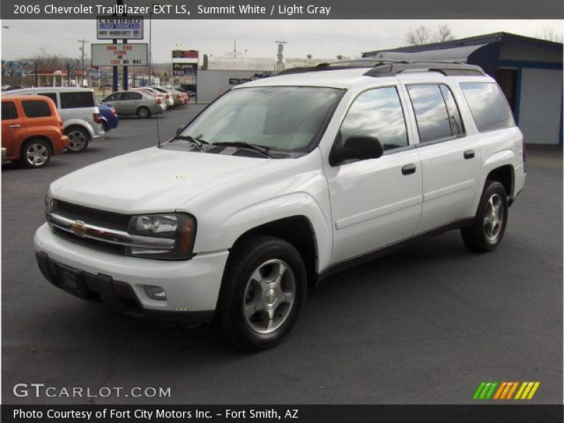 2006 Chevrolet TrailBlazer EXT LS in Summit White. Click to see large ...