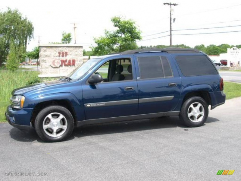 2004 chevrolet trailblazer ext lt 4x4 in indigo blue metallic click