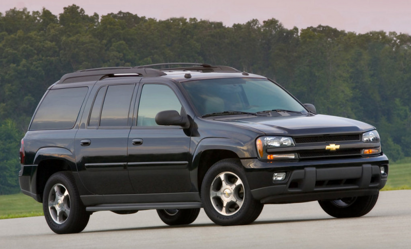 Hooniverse Parting Shot: The Chevy Trailblazer and its Five Clones.
